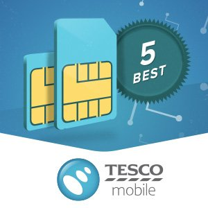 The best Tesco Mobile SIM-only deals