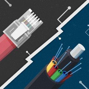 Standard ADSL broadband vs fibre broadband